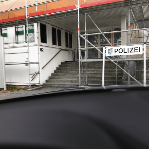 028. Polizei Direktion Wetterau Friedberg Ausbau Aufstockung BA2