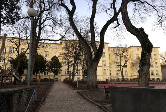 Mornewegschule Hauptgebäude Darmstadt