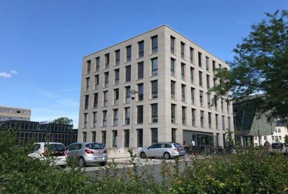 TU Darmstadt Erweiterungsbau
