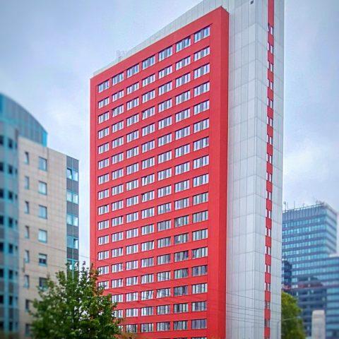 Hochhaus Lyonerstraße Nutzungsänderung