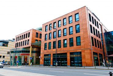Bürogebäude am Mainzer Südbahnhof